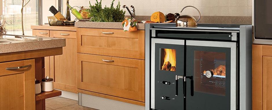 Cucine a legna termocucine legna cucina legna nordica - Forno a legna cucina moderna ...