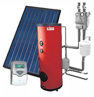 Impianto a pannelli solari termici solare termico for Pannelli solari per acqua calda ultima generazione