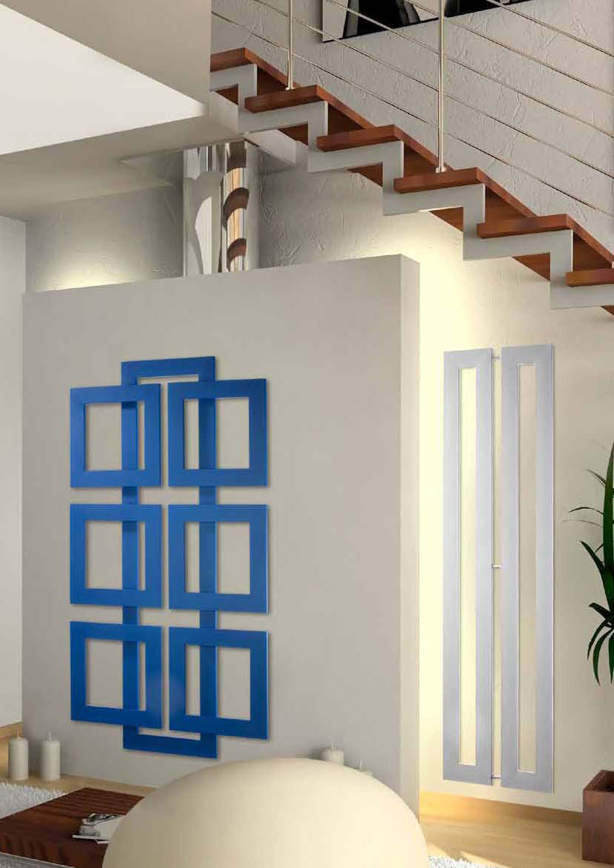 Brem radiatori moderni di design modello cross q cross for Brem radiatori