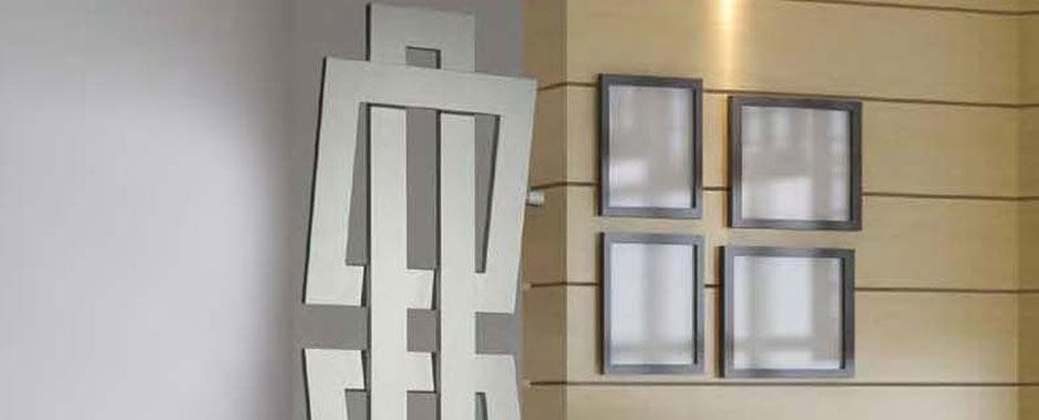radiatori brem per il design, arredo bagno mod. cross divis [cross ... - Termosifoni D Arredo Per Bagno